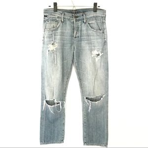 Citizens of humanity boyfriend distressed jeans
